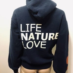 5dc482ee3ea11 FREE CITY FRED SEGAL LETS GO NAVY HOODIE XS